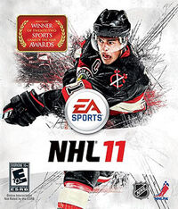 NHL 11 Jonathan Toews cover