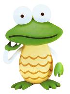 Clay armoredfrog