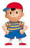 Ness SSBB Sticker