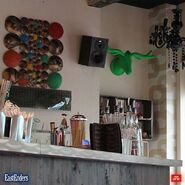 The Albert Bar and sound system