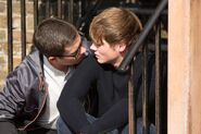 Ben Mitchell tries to kiss Johnny Carter (2014)