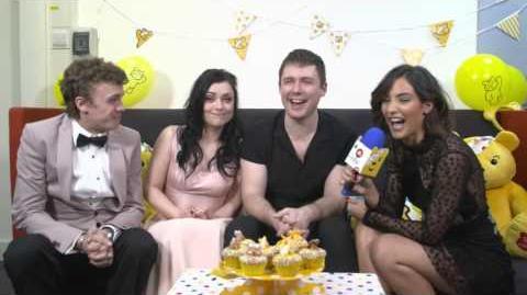 Frankie Bridge Interviews the Cast of Eastenders - Part Two