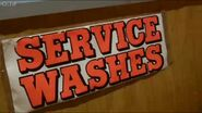Launderette Service Wash Sign 2