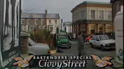 Christmas on BBC1 1988 EastEnders Civvy Street