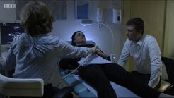 Whitney Dean and Lee Carter learn of Whitney's miscarriage (10 October 2016)