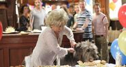 Genghis eats Peggy Mitchell's Buffet