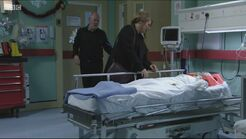 Dennis Rickman JNR in Walford Hospital (2015)