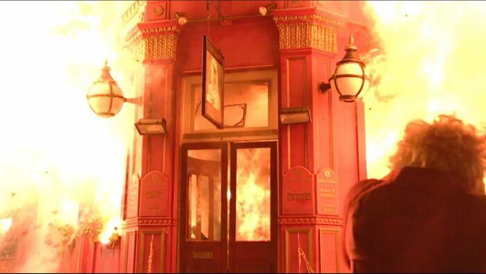Queen Vic Fire