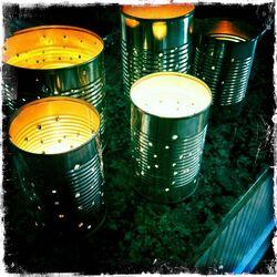 Tin-can-lanterns