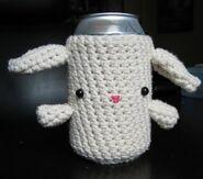 Bunny beer cozy 477