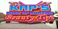Kap's Book of Amazing Beauty Tips