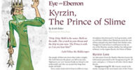Kyrzin, the Prince of Slime