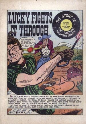 Lucky Fights It Through Vol 1 1