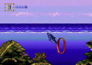 Melodic waters screen