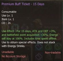 PremiumBuffTicket15Days