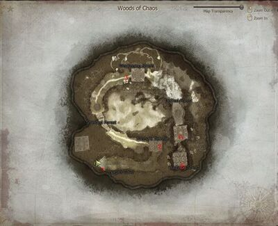 Woods of Chaos Map