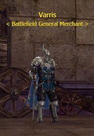 Varris - Battlefield General Merchant