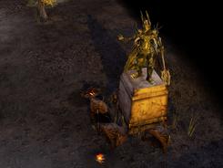 Sauron statue
