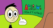 Andrew's Crazy World title screen