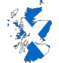 Flag-Map-of-Scotland