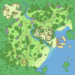map of Tranquil Hill