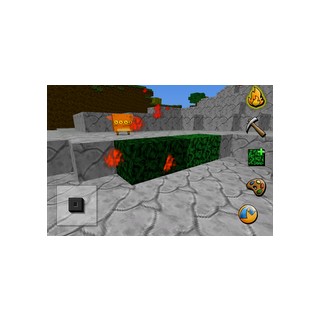 This shows the user burning some leaves. (Creatures are also flammable)