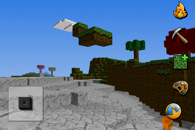 Small floating island
