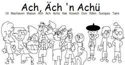 Ach Ach n Achu Uncoloured by Me
