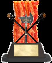Axe Bacon Shillelagh Trophy