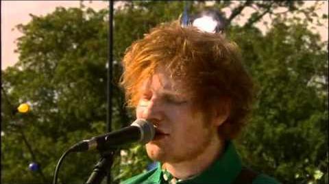 Ed Sheeran - The A Team - Live at Glastonbury Festival 2011