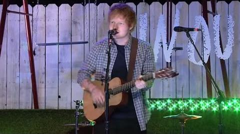 Ed Sheeran - Sing (Live at TFIOS Premiere)