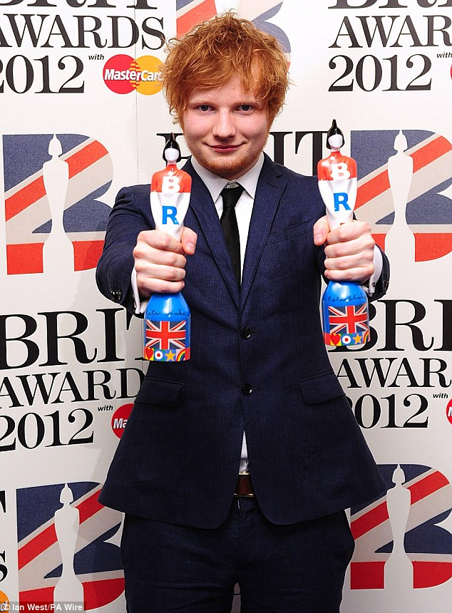 male singer with red hair at the 2015 grammys brit awards gallery ed sheeran wiki fandom powered by