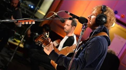 Ed Sheeran - One - Live At Maida Vale For Zane Lowe