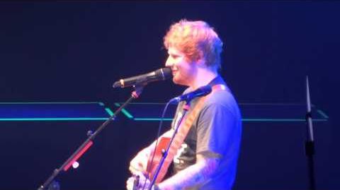 Ed Sheeran- Wake Me Up- MSG- New York City, NY- Nov 1, 2013