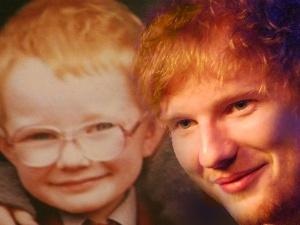 Image ed sheeran child adult composite ed - Ed sheeran give me love live room ...