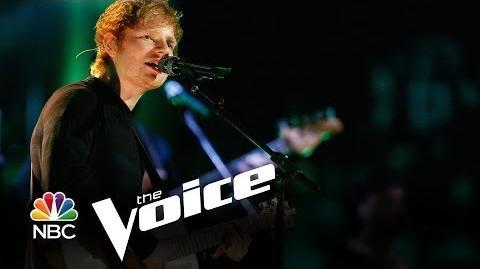 "Ed Sheeran ""Sing"" (The Voice Highlight)"