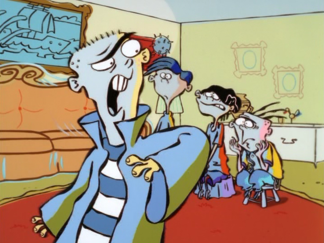 File:Ed telling Rolf, Edd and Eddy to shut up.png