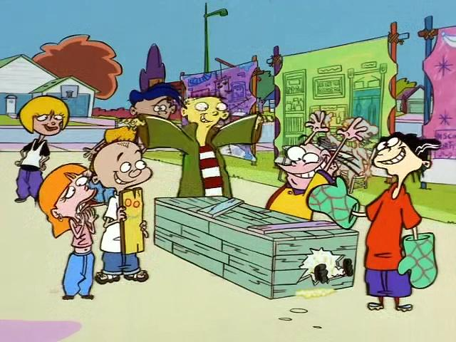 Ed, Edd, 'n' Eddy (S04E07) - Your Ed Here; The Good Ol' Ed