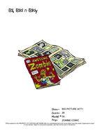 Zombie Comic in Ed's Room