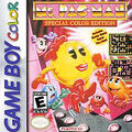 GBC Ms Pac-Man Game Box