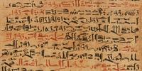 Cursive hieroglyphs
