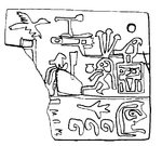 Narmer Label Abydos