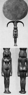 Mirror, 28th Dynasty, Gallatin Collection