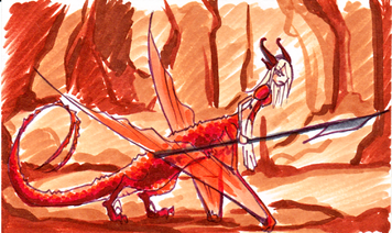 Yxarr sketch card