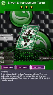 0208 Silver Enhancement Tarot