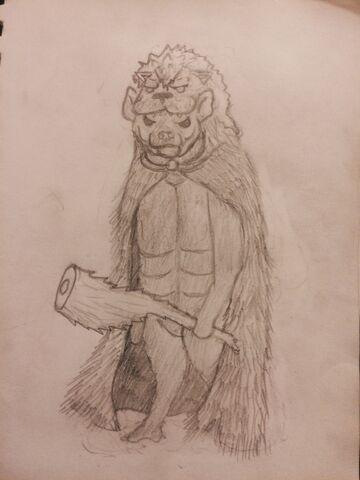 File:Hyenakles in cloak, by DoctorMcTaalik.jpg
