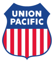 Logo der Union Pacific Railroad