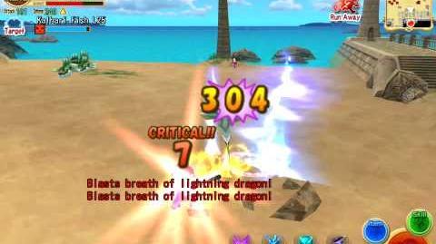 Elemental Knights Online Multicasting Buster Spells