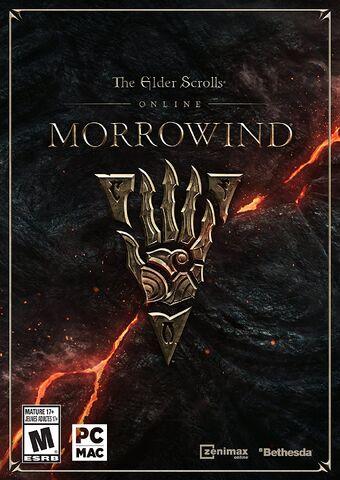 ไฟล์:The Elder Scrolls Online Morrowind Cover.jpg