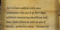 Alethius's Notes